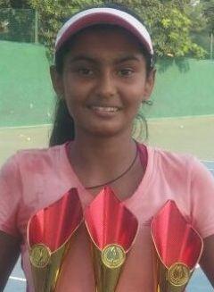 Tia won three titles in straight sets
