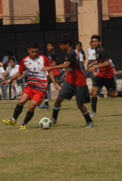 Inter school soccer competition