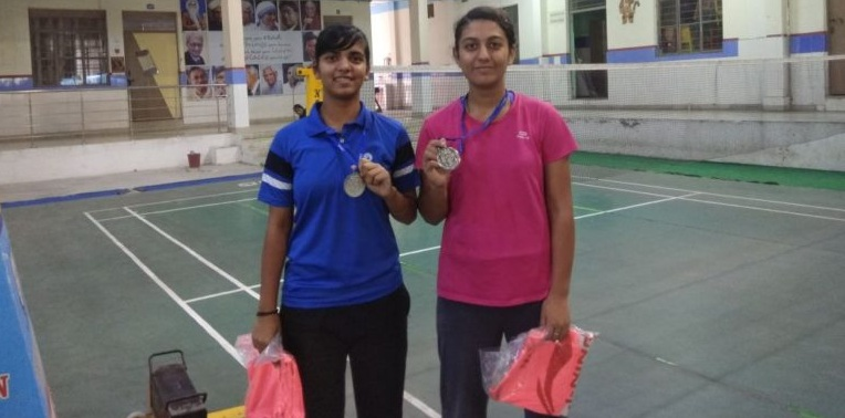 Anusha and Shahjara pair became CBSE