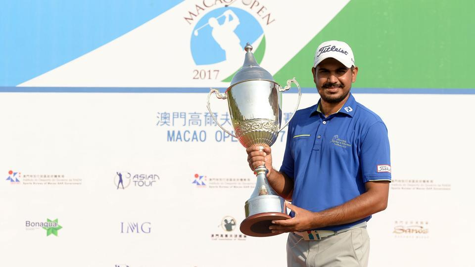 Macao Open golf