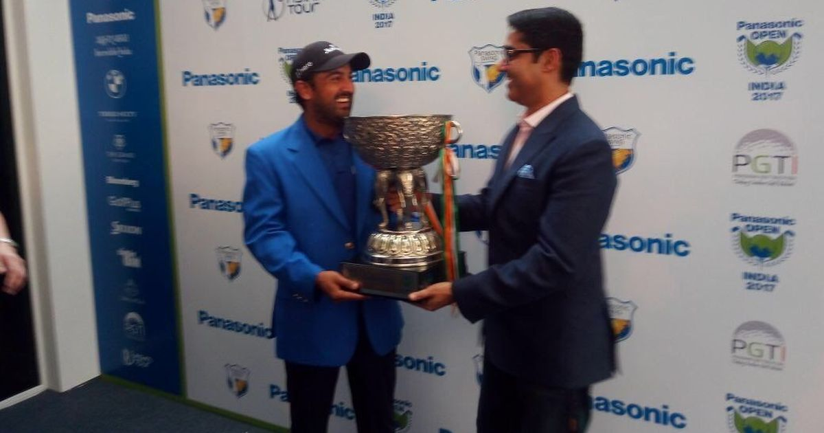 Shiv Kapur clinches Panasonic Open title by three strokes