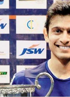 Saurav Ghosal wins CCI squash title