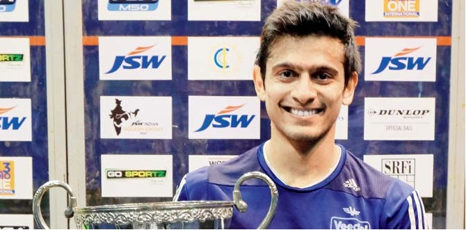 Saurav Ghosal wins CCI squash title