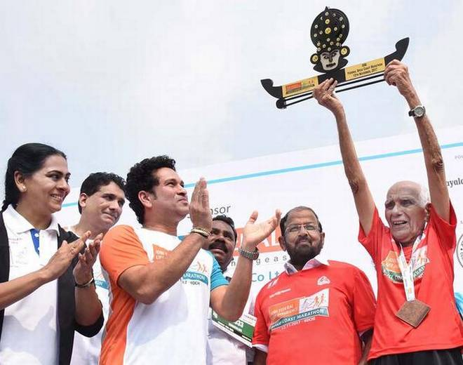 Rajesh wins101-year-old sizzles