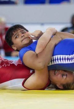 In national wrestling, Divya has won gold, Diksha, Sheetal and Sakshi bronze