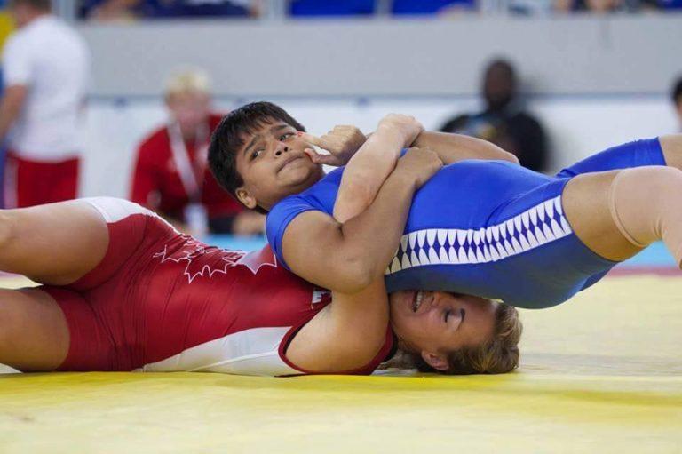 In national wrestling, Divya has won gold, Diksha, Sheetal and Sakshi bronze