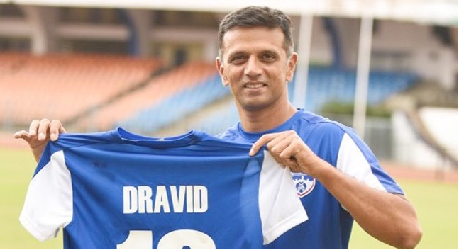 ISL 4: Rahul Dravid becomes Bengaluru FC ambassador