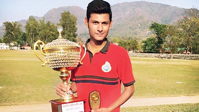 Harsh got 20 wickets in Venu Mankad Trophy