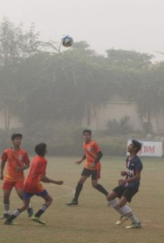 ASN, APJ and Father Agnel won the title of football