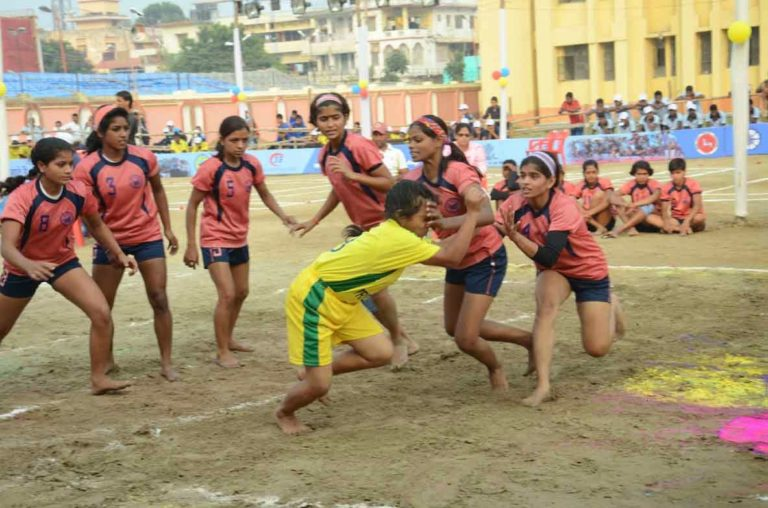 16 girls teams will participate in Kabaddi Competiton