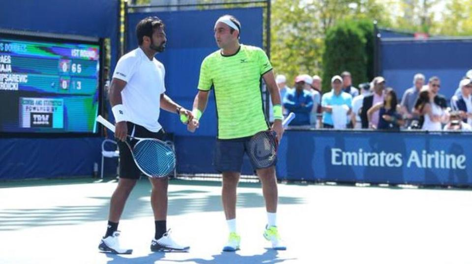 Paes and Purav lift the Knoxville Challenger tennis title