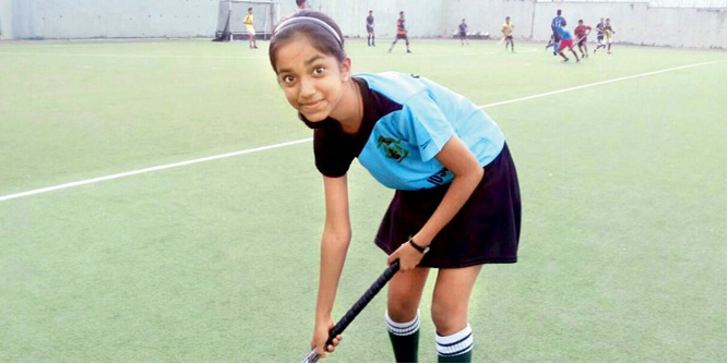 Teenage hockey player ready to set turf ablaze