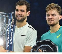 Grigor Dimitrov beats David Goffin to win ATP Finals