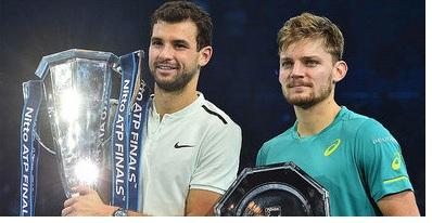 Grigor Dimitrov beats David Goffin to win ATP Finals