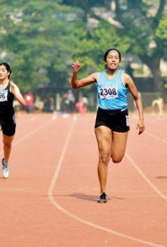 Inter-School Athletics: Nicole is two good