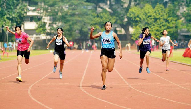 Inter-School Athletics: Nicole is two good