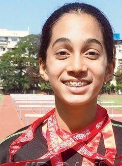 Inter-school athletics-Three cheers to golden girl Sharvari