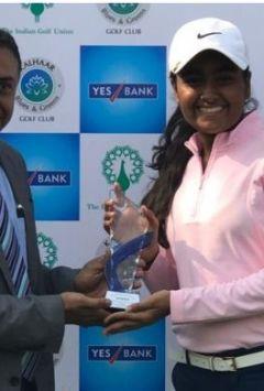 NGC's Anika Verma on top in U18 golf