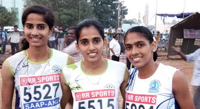 Amoj and Jisna race to gold