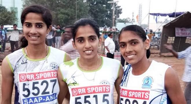 Amoj and Jisna race to gold