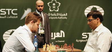Viswanathan Anand stuns World No. 1 Magnus Carlsen in Riyadh world rapids
