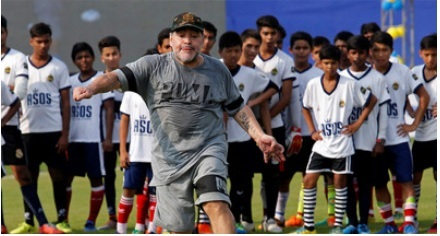 Maradona magic enchants Kolkata