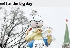 2018 World Cup draw today