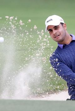 Shubhankar Sharma in command as weather pushes Joburg Open golf