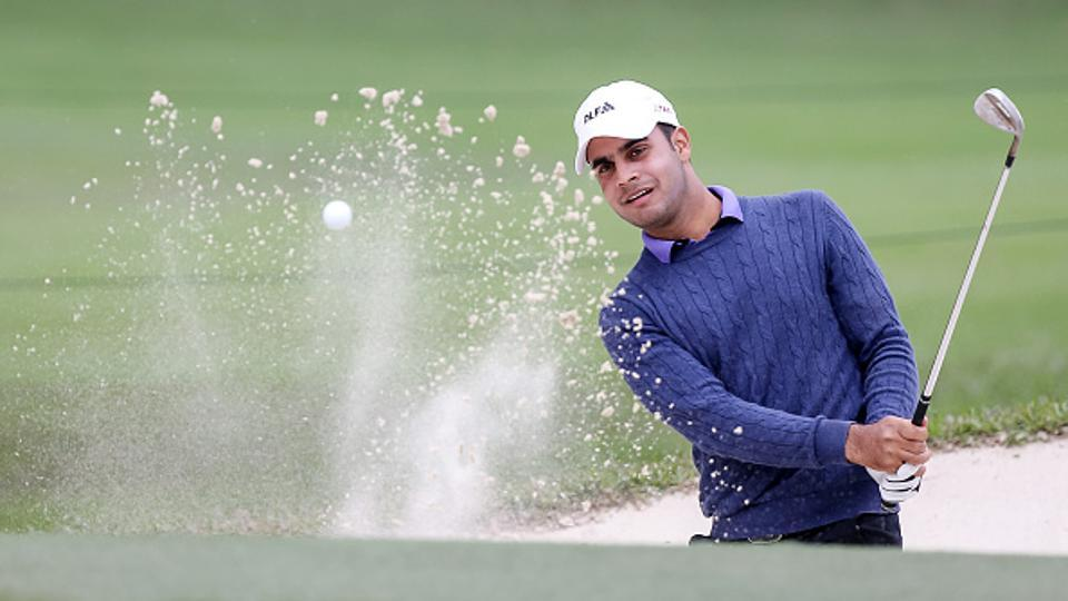 Shubhankar Sharma in command as weather pushes Joburg Open golf