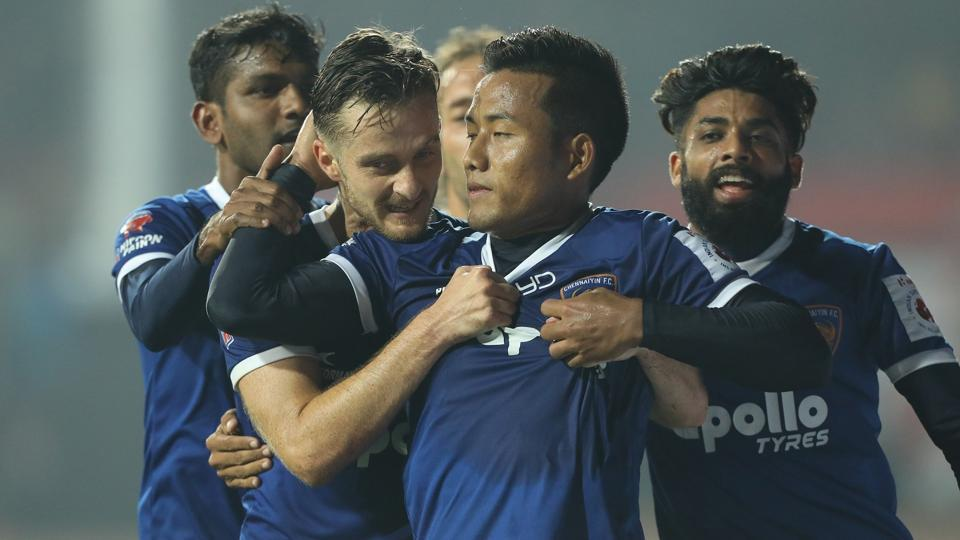 Jeje Lalpekhlua's penalty decided the outcome of the Indian Super League match between Jamshedpur FC and Chennaiyin FC, with the visiting side emerging 1-0 winners at Jamshedpur.