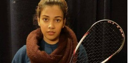 Sachika won the title of Delhi Open Squash