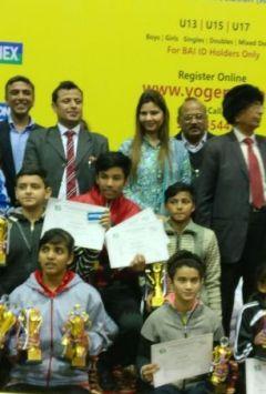 Yogames Elite District Badminton Tournament concludes at Noida Stadium