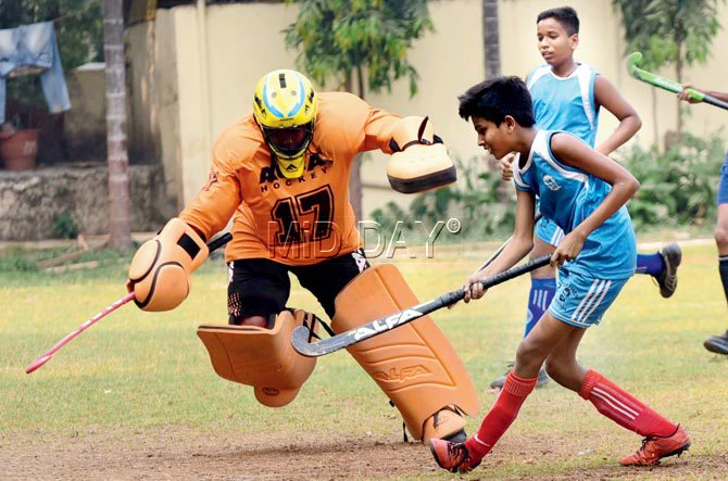 Grass is not green, say MSSA hockey coaches
