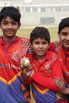 Sehwag Cricket Academy and Indraprastha Cricket Academy again win