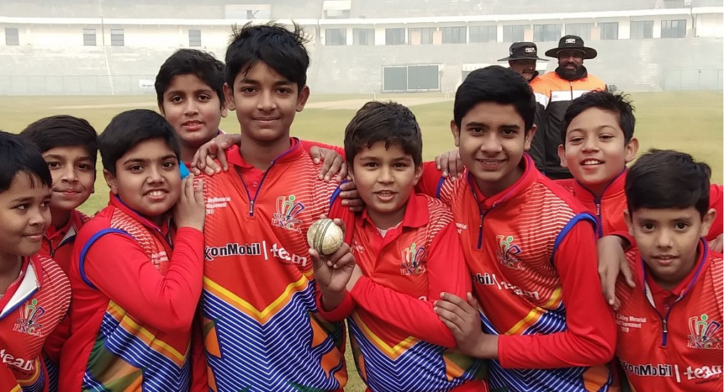 Sehwag Cricket Academy and Indraprastha Cricket Academy again win