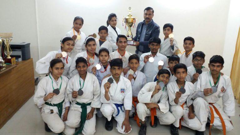 Maharishi Vidya Mandir won Karate championship