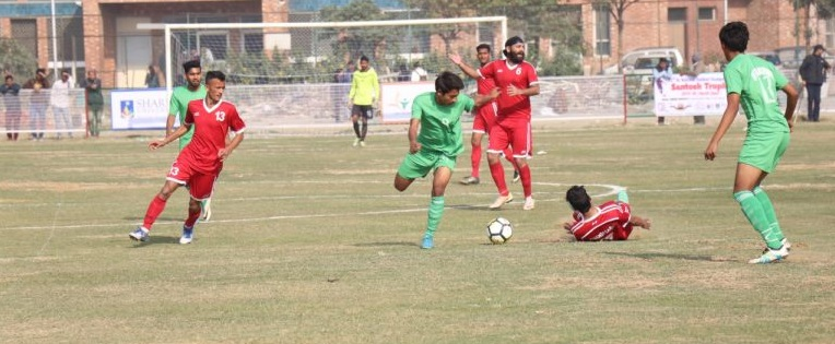 North Zone Santosh Trophy Football Qualifier