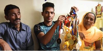 Poverty spurs Delhi runner Nisar to break more records