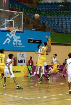 basketball Khelo India