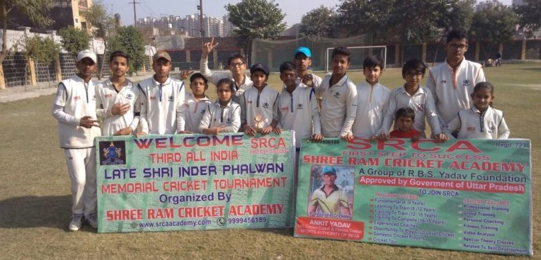 Shriram and Eklavya Academy won more than 200 runs