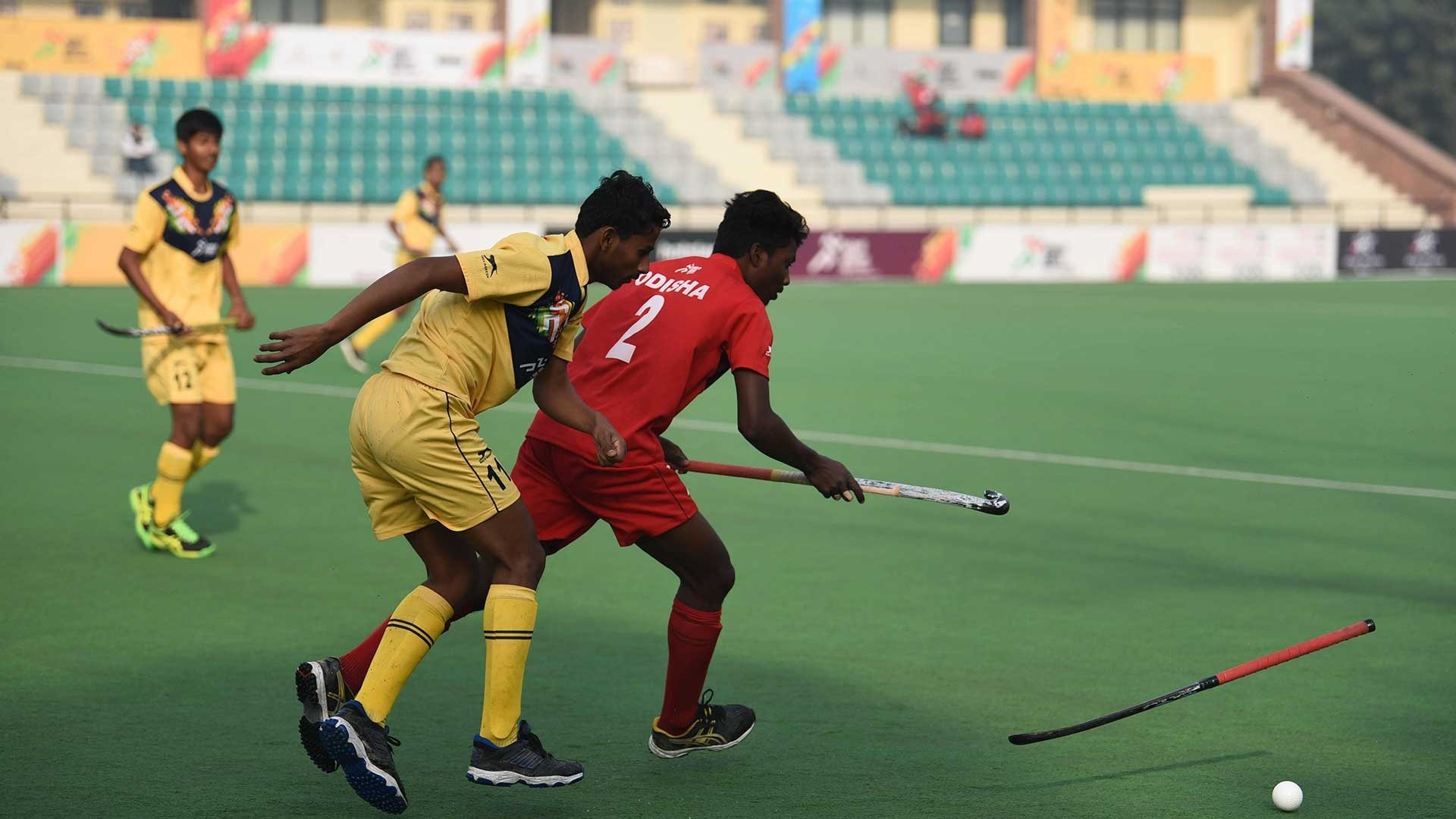 Odds favour Odisha boys as they take on Uttar Pradesh in the semi final of the hockey competition of Khelo India School Games at Dhyan Chand National Stadium New Delhi on Wednesday.