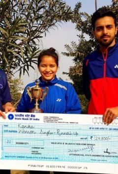 All India senior ranking badminton championship