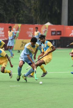 Hockey semis in Khelo India School Games