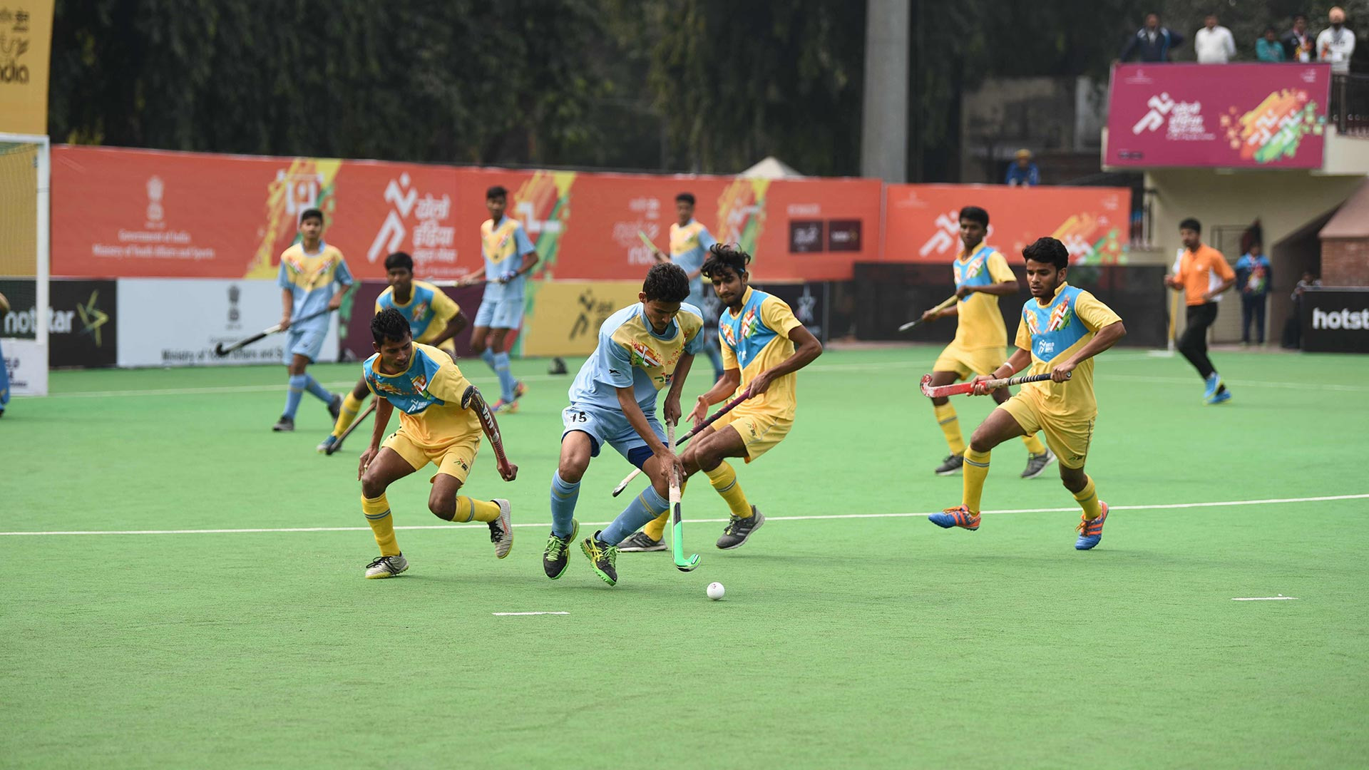 Hockey semis in Khelo India School Games