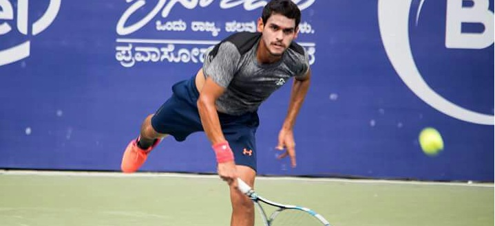Siddharth Rawat is among the seven best tennis players in the country