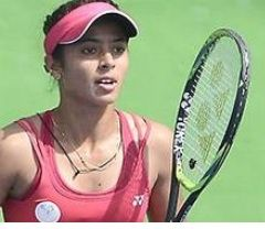 Ankita breezes into the final