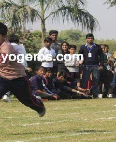 Athletics Vishwabharti public school