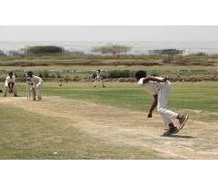 Fast bowler Camp