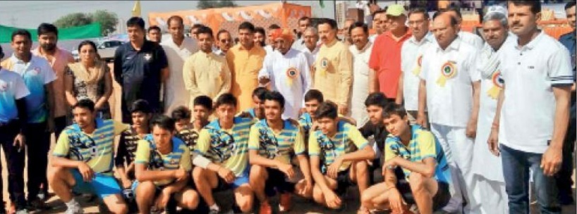Haryana State Level Handball Championship final today