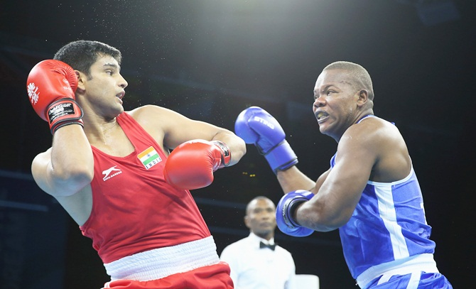 CWG Boxing Quarters